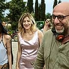 Valeria Bruni Tedeschi, Micaela Ramazzotti, and Paolo Virzì in La pazza gioia (2016)