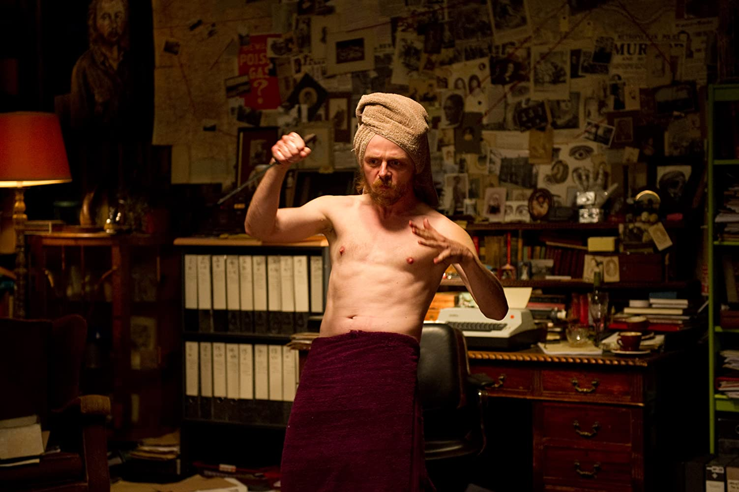 Simon Pegg in A Fantastic Fear of Everything (2012)