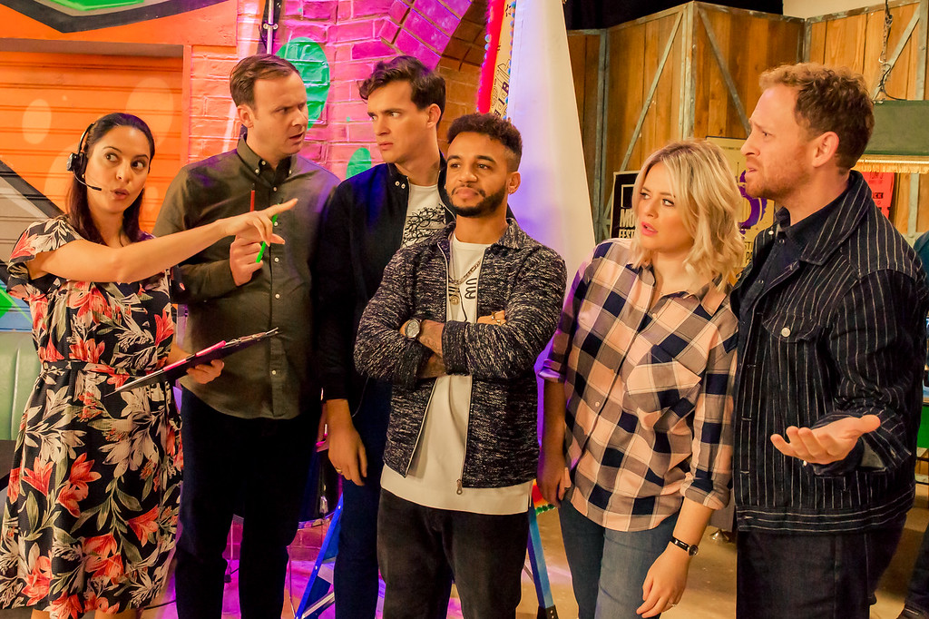 Zina Badran, Colin Hoult, Luke Fetherston, Aston Merrygold, Emily Attack and Ryan Early on set for Almost Never (Series 2).