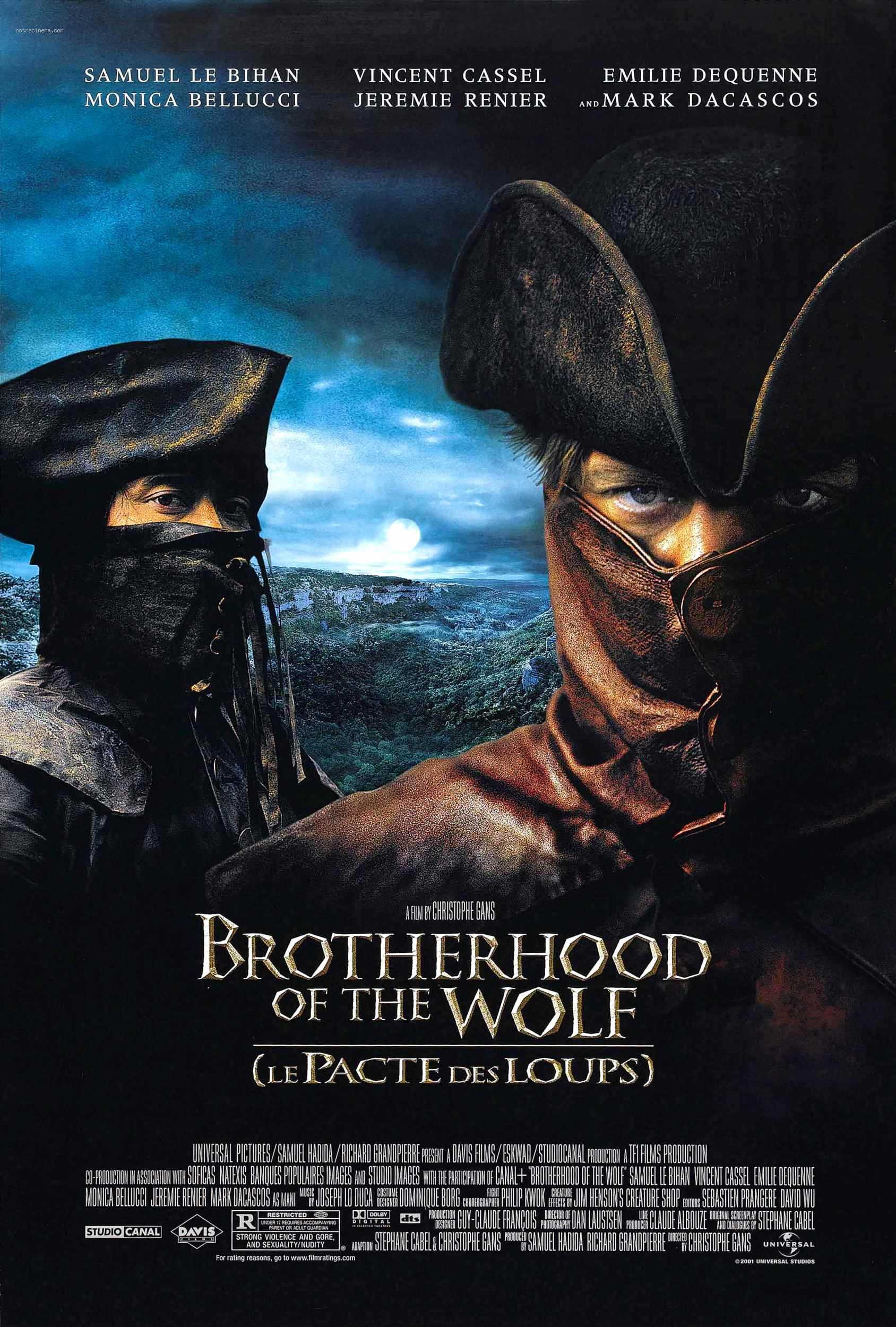 Brotherhood Of The Wolf 2001 Imdb