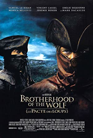 Watch Brotherhood of the Wolf (2001) poster