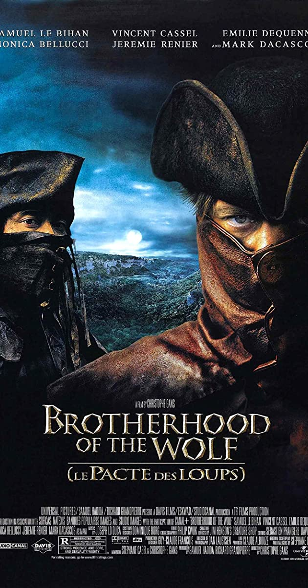 Subtitle of Brotherhood of the Wolf