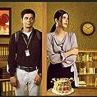 Saloni Khanna and Sunil Grover in Sunflower (2021)