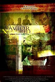 A Savior Red Poster