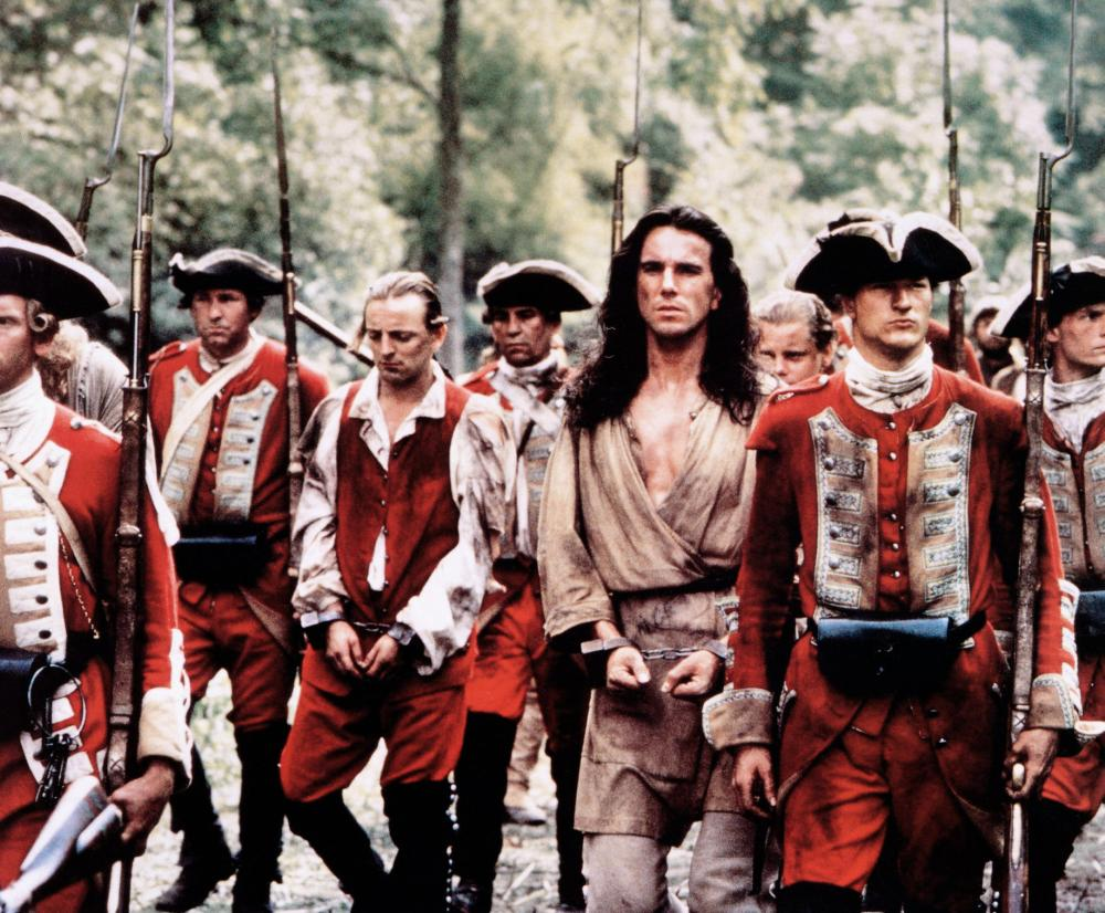 Daniel Day-Lewis in The Last of the Mohicans (1992)