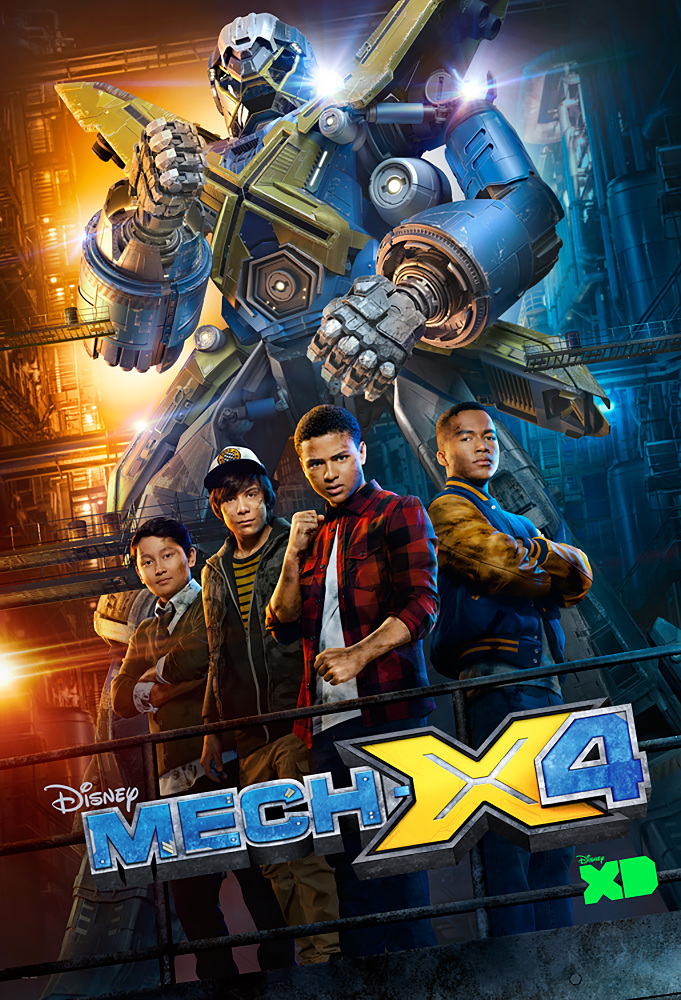 Mech-X4 (TV Series 2016– ) - IMDb