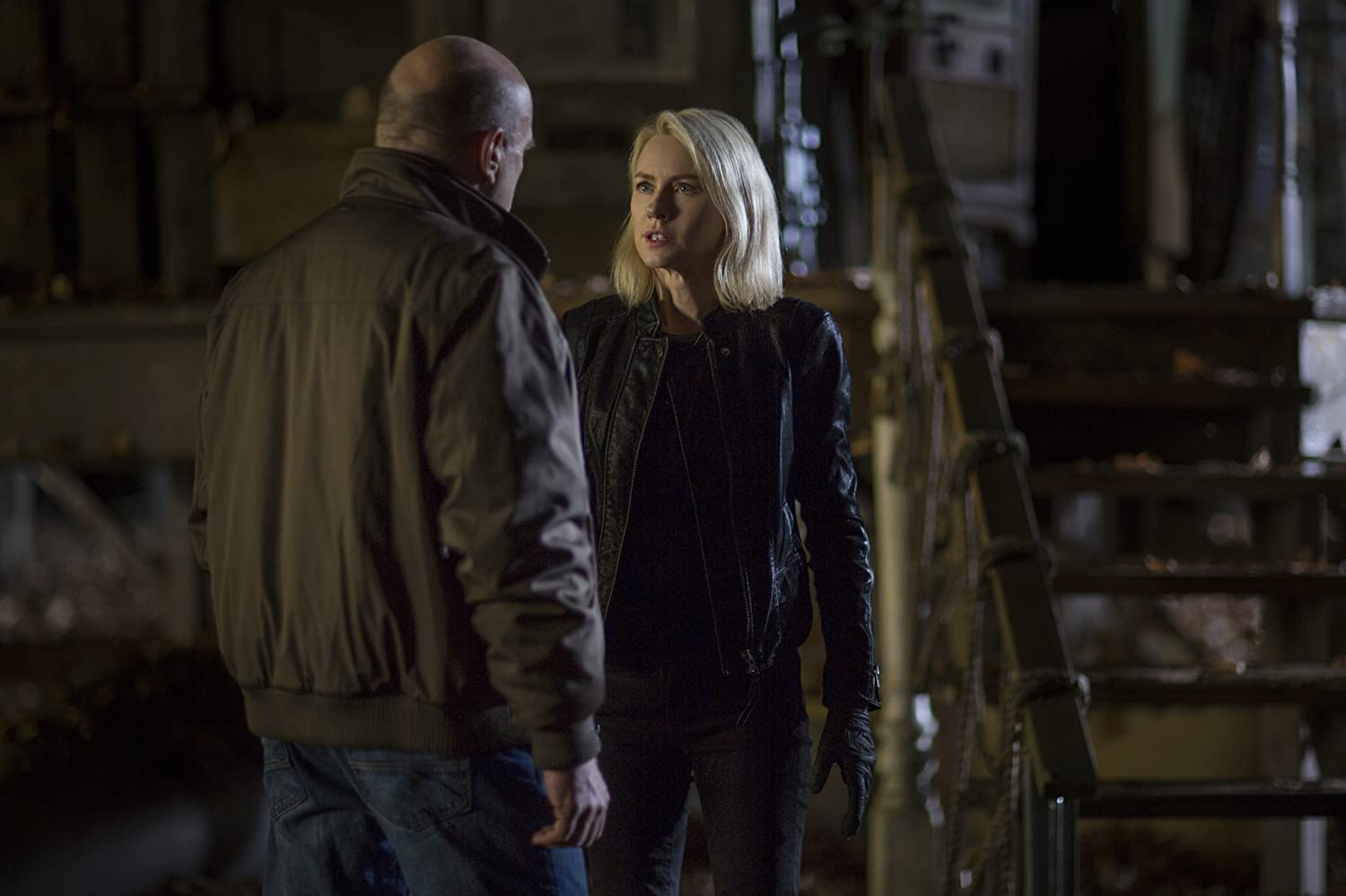 Dean Norris and Naomi Watts in The Book of Henry (2017)