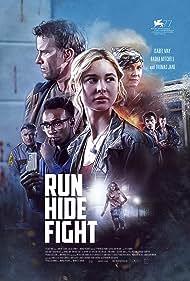 Treat Williams, Thomas Jane, Radha Mitchell, Britton Sear, Olly Sholotan, Isabel May, and Eli Brown in Run Hide Fight (2020)