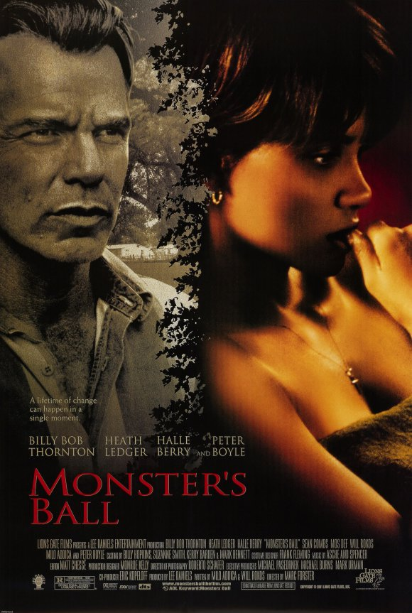Billy Bob Thornton and Halle Berry in Monster's Ball (2001)