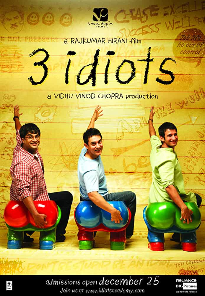 3 Idiots | 2009 | Hindi | 1080p | 720p | BluRay