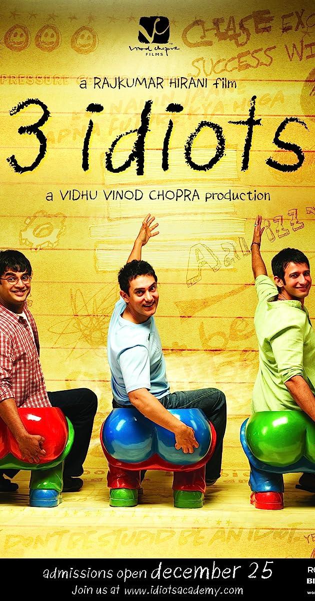 Watch Full HD Movie 3 Idiots (2009)