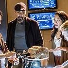 Tom Felton, Jesse L. Martin, Candice Patton, and Carlos Valdes in The Flash (2014)