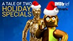 On this IMDbrief and with some help from C-3PO himself, Anthony Daniels, we download the weird and wild history of the two Star Wars Holiday Specials.