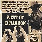 Rufe Davis, Bob Steele, and Tom Tyler in West of Cimarron (1941)