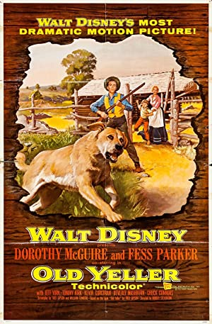Old Yeller Poster Image