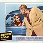 Jeanne Cooper and Gene Raymond in Plunder Road (1957)