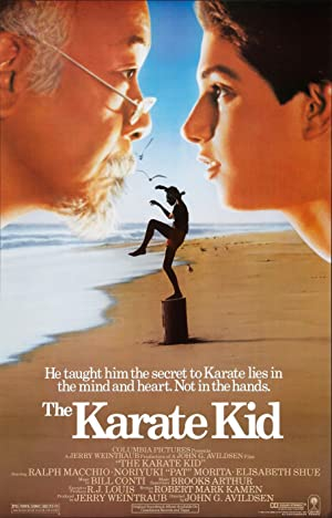 poster for The Karate Kid