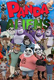 Panda vs Aliens (2021) HDRip English Movie Watch Online Free