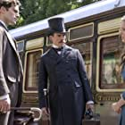 Henry Cavill, Sam Claflin, and Millie Bobby Brown in Enola Holmes (2020)
