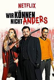 Kostja Ullmann, Sophia Thomalla, and Sascha Alexander Gersak in Wir können nicht anders (2020)