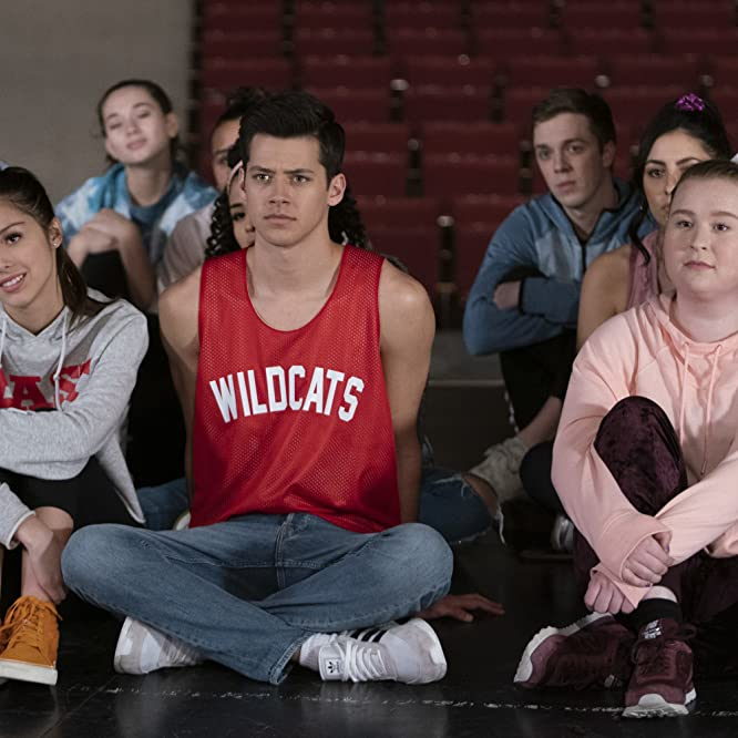 Julia Lester, Matt Cornett, and Olivia Rodrigo in High School Musical: The Musical - The Series (2019)