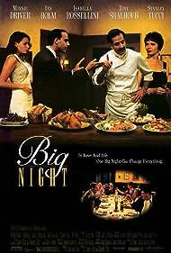 Minnie Driver, Isabella Rossellini, Tony Shalhoub, and Stanley Tucci in Big Night (1996)
