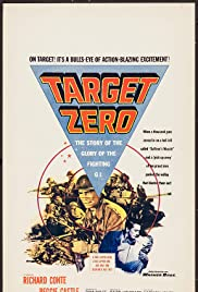 Target Zero (1955) starring Richard Conte on DVD on DVD