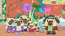 Compleanno di nonna Pug