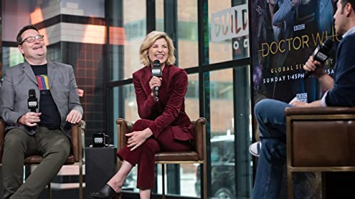 "BUILD: Jodie Whittaker on the Advice She Received for ""Doctor Who"""