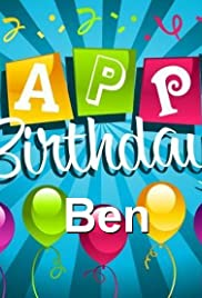 Ben's Birthday Spectacular! - G Man's New Rap Poster