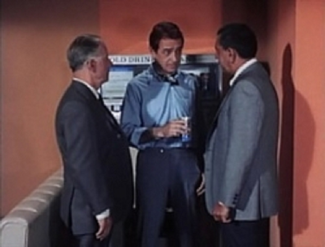 John Hudson, Harry Morgan, and Jack Webb in Dragnet 1967 (1967)