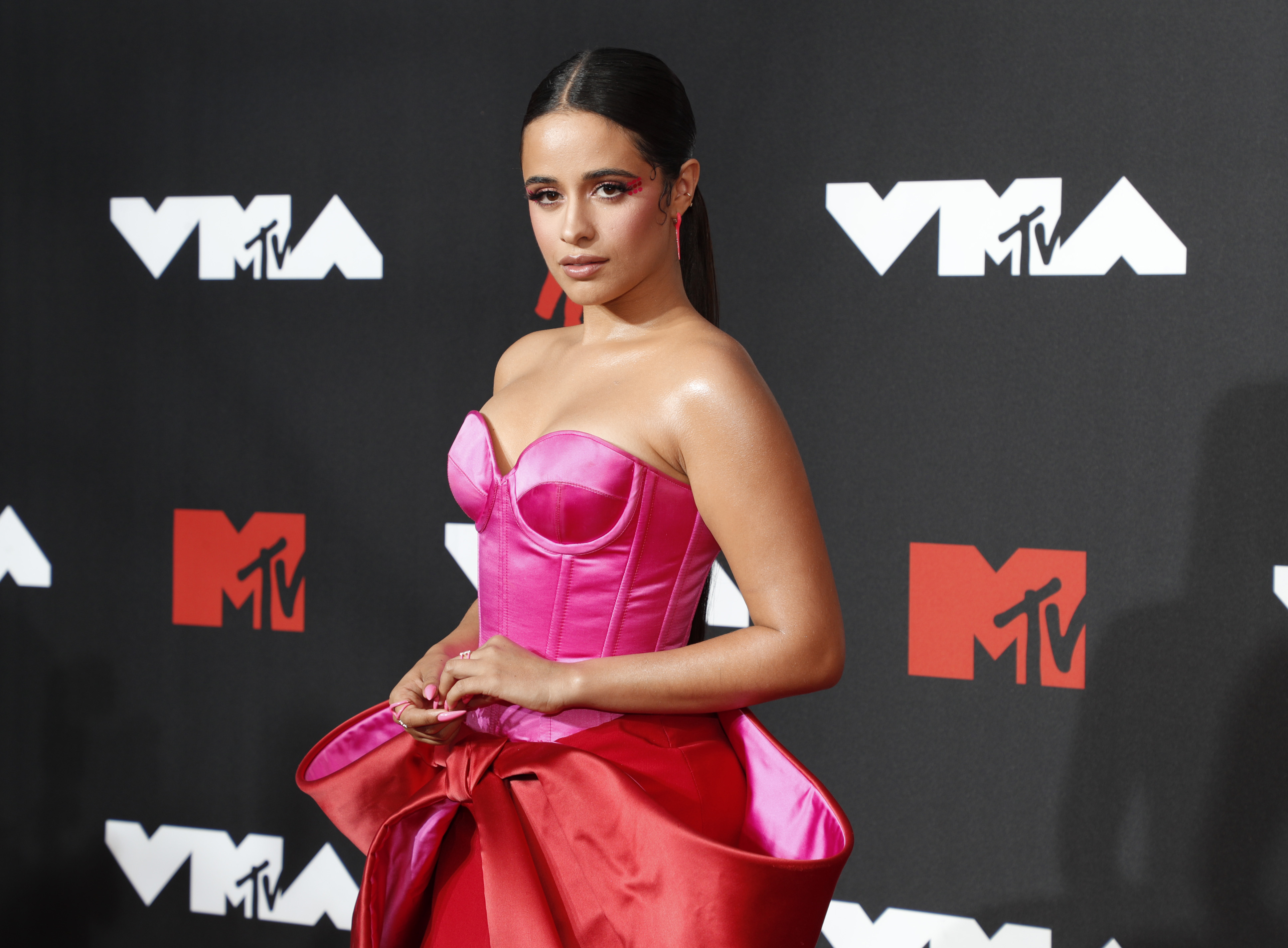Camila Cabello at an event for 2021 MTV Video Music Awards (2021)