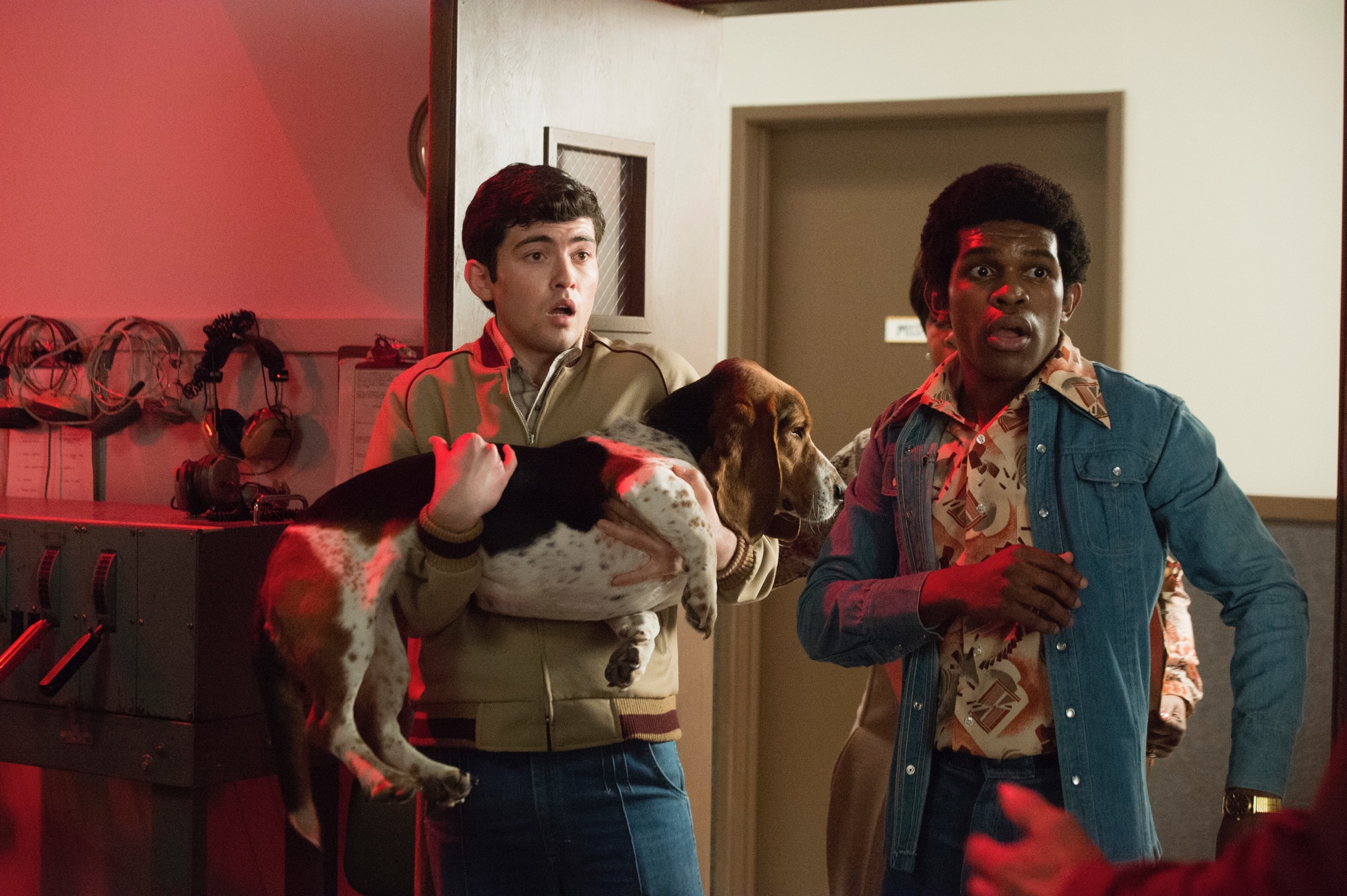 Ian Nelson and Camrus Johnson in There's... Johnny! (2017)