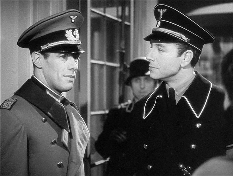 Rex Harrison and Paul Henreid in Night Train to Munich (1940)
