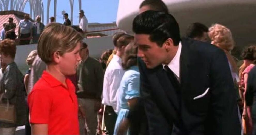 Elvis Presley and Kurt Russell in It Happened at the World's Fair (1963)