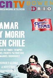 Amar y morir en Chile Poster