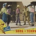 Roy Rogers, Arline Judge, Sheila Ryan, and Harry Shannon in Song of Texas (1943)