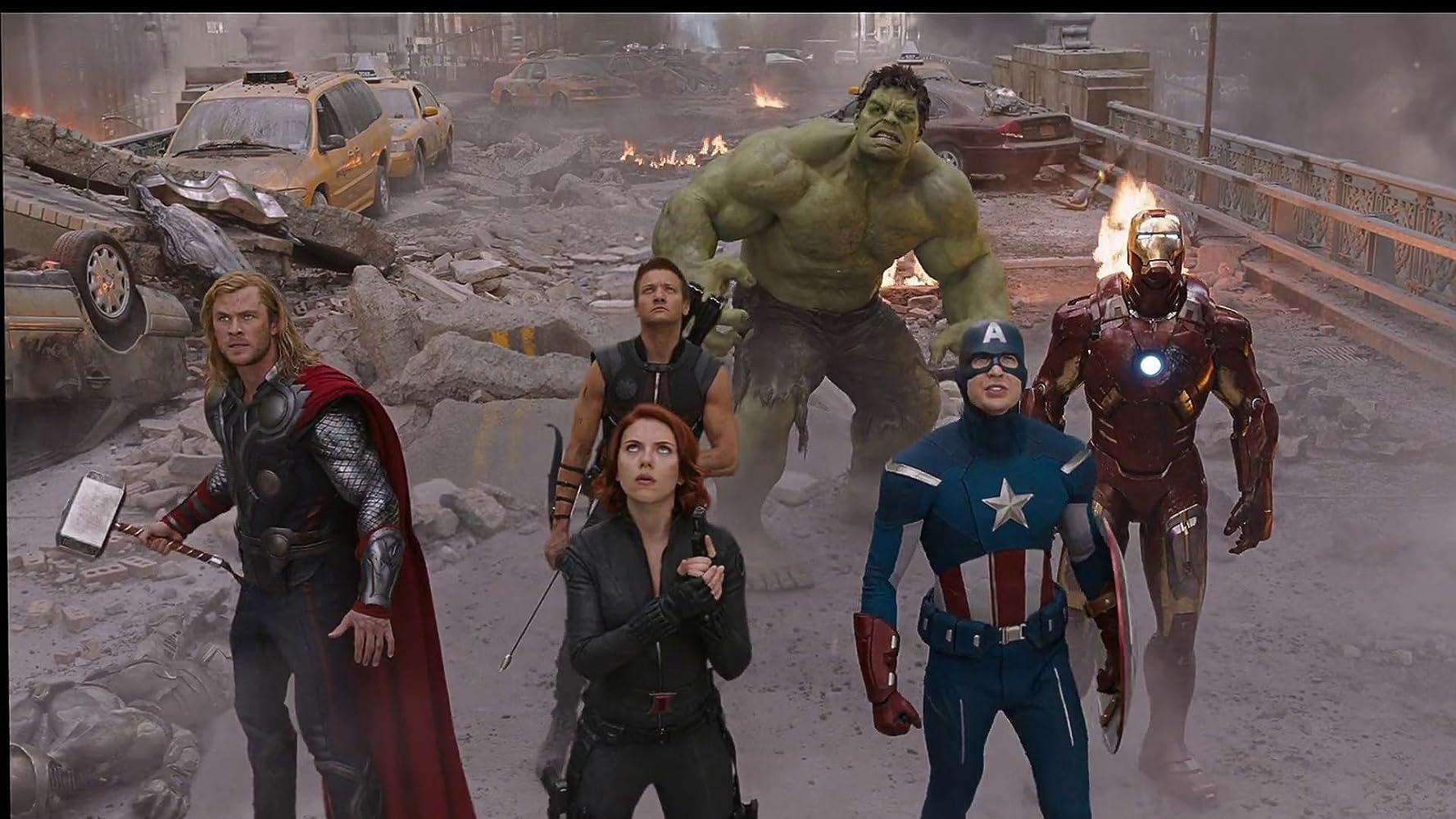 Resultado de imagem para avengers 2012