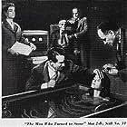 Charlotte Austin, Ann Doran, Victor Jory, Friedrich von Ledebur, George Lynn, and Victor Varconi in The Man Who Turned to Stone (1957)