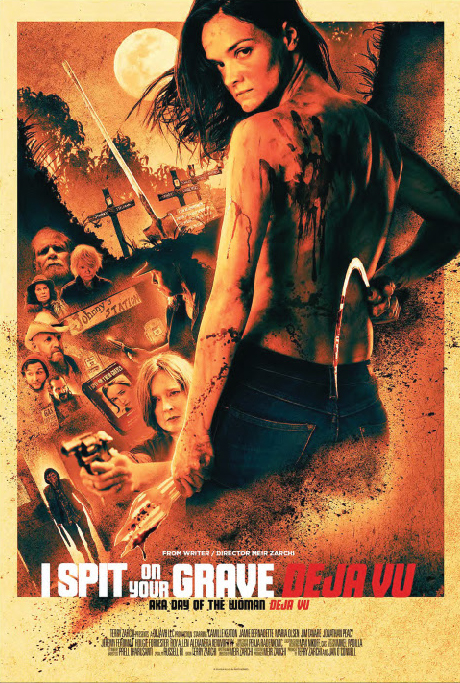 18+ I Spit on Your Grave: Deja Vu 2019 English Movie 460MB BluRay Download