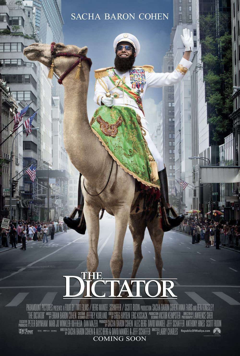 Download The Dictator 2012 Hindi Dual Audio 480p BluRay ESubs 300MB