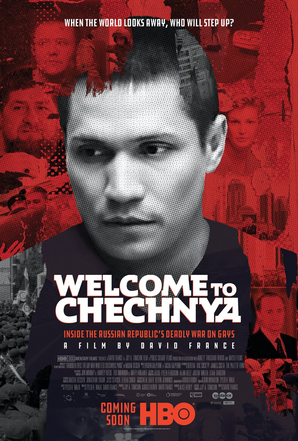 Welcome to Chechnya movie poster