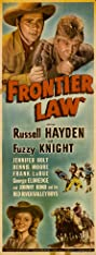 Frontier Law (1943) Poster