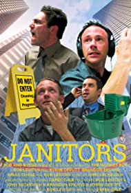 Brian Chase, Byrne Offutt, Bob Levitan, and Brandon Epland in Janitors (2006)