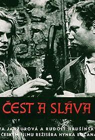 Blanka Bohdanová and Rudolf Hrusínský in Cest a sláva (1969)