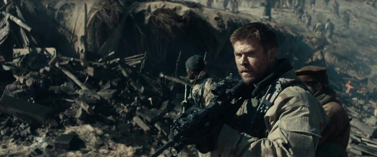 Chris Hemsworth in 12 Strong (2018)