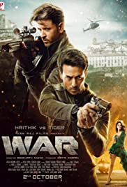 War (2019) Poster - Movie Forum, Cast, Reviews