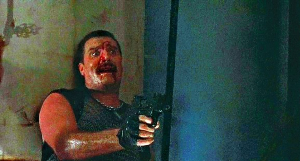 Vernon Wells in Commando (1985)