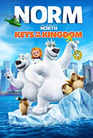Andy Toth, Cole Howard, Jennifer Cameron, Alan Marriott, Brian Drummond, and Maya Kay in Norm of the North: Keys to the Kingdom (2018)