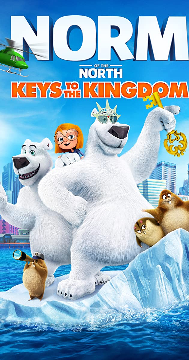 Subtitle of Norm of the North: Keys to the Kingdom
